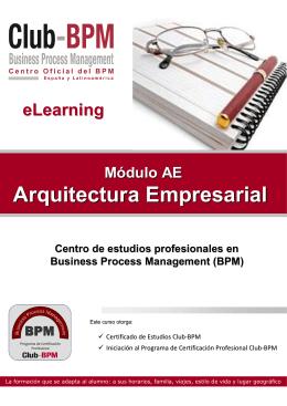 Folleto-AE-Arquitectura Empresarial - Club-BPM