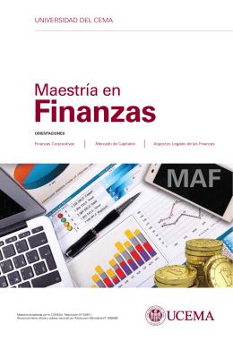 Maestría en - Universidad del CEMA