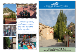 Folleto Escolarización2014-15