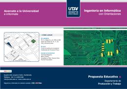 folleto ingenieria en informatica - Universidad Nacional de Avellaneda
