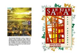 Folleto Plan Pastoral Parroquial 2013-14