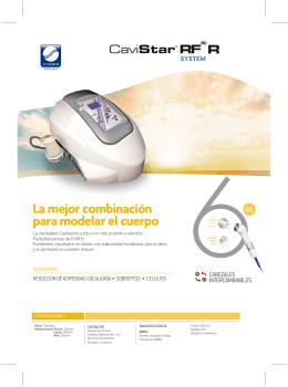 Folleto CAVISTAR RF6 R SYSTEM.10.13.ES