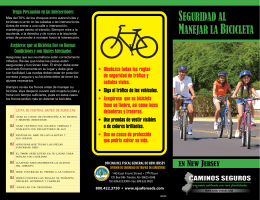 Seguridad al manejar la bicicleta en New Jersey