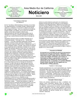 Marzo - Msca09aa.org