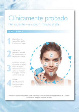 Folleto SkinPro