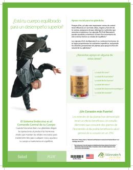¿Está tu cuerpo equilibrado para un desempeño superior?