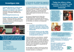 Investigue más - Enabling Education Network