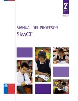 Manual del Profesor SIMCE 2.° básico 2012