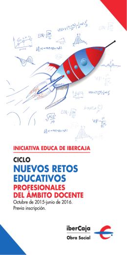 folleto nuevos retos educativos