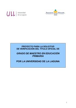 proyecto grado maestro en educación primaria 09.07.09