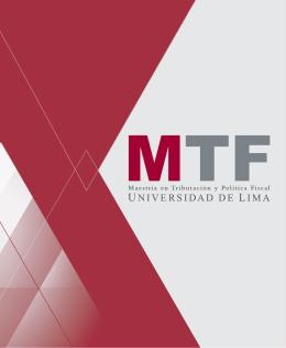 Folleto - Universidad de Lima
