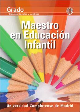 Maestro en Educación Infantil