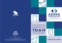 Cuaderno informativo TDAH