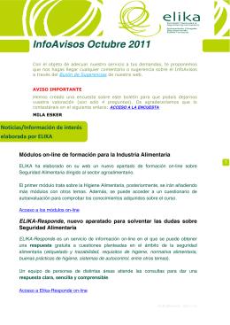 InfoAvisos AA Octubre 2011