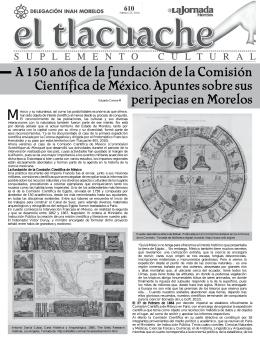 A 150 años de la fundación de la Comisión Científica de