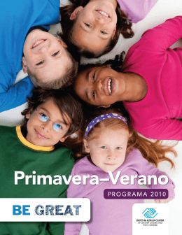 Primavera–Verano - Boys and Girls Clubs of Greater Oxnard and