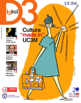"Cultura made in"" UC3M "" - e-Archivo Principal"