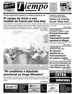 Informes - Diario Tiempo Digital