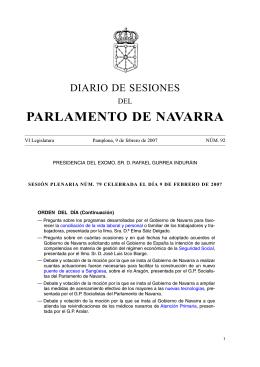 PDF Diario de Sesión - Parlamento de Navarra