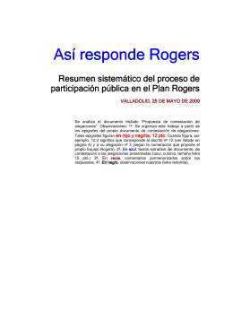 Así responde Rogers