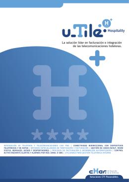 folleto u_TileHospitality.indd