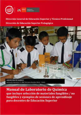 Manual de Laboratorio de Química