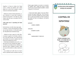 control de esfinteres - Centro Educativo Sagrada Familia de Nazaret