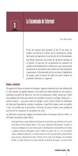 La Encamisada de Estercuel. Jesús Rubio Abella.