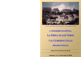 Folleto Congreso Taurino _4-2, Toros en Pueblo