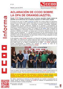 III nnn fff ooo rrr mmm aaa - Federación de Servicios a la Ciudadanía