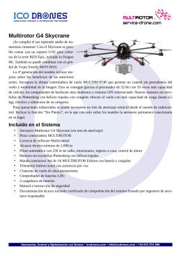 folleto informativo del Skycrane