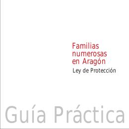 Guía práctica para familias numerosas en Aragón