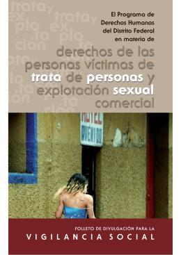 derechos de las personas víctimas de trata de personas y