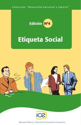 4. Etiqueta social