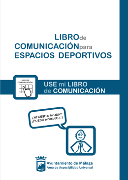 Libro de Comunicación Espacios Deportivos