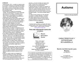 Autismo - Parent Information Center
