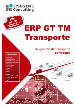 Folleto ECM GT TM Transporte