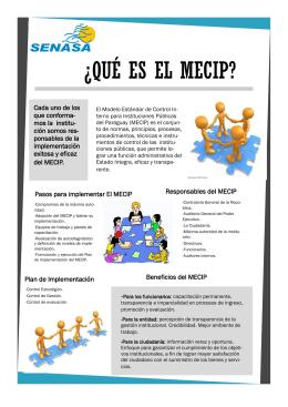 Folleto MECIP_Senasa