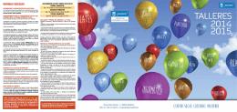 Folleto Curso 2014-2015 Centro Socio