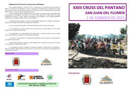 folleto cross san juan2015 - Federación Aragonesa de Atletismo