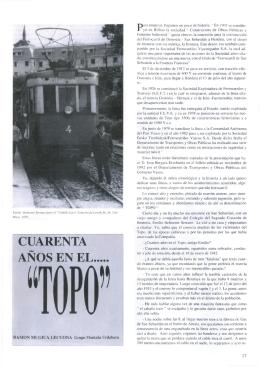 """Cuarenta años en el... """"Topo"""", Ramón Múgica Lecuona"""
