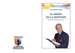 EL ORDEN DE LA ADOPCIÓN