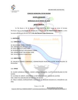 archivo - Ilustre Municipalidad de Río Bueno