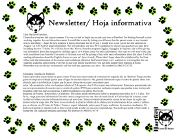 August News letter 2013 (Read