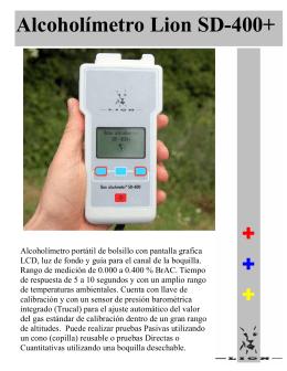 Folleto SD-400 Tecnologia - Tecnología y Diagnósticos del Norte
