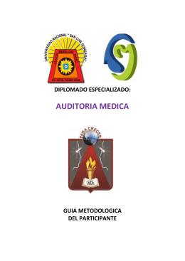 Folleto 4 caras - Auditoria Medica.cdr