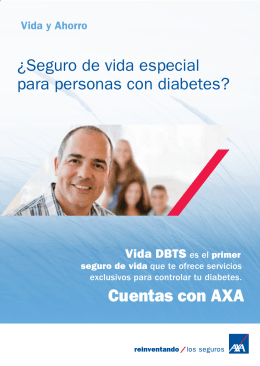 folleto - AXA Seguros