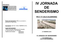 FOLLETO INFORMATIVO PRv 171 els calderons