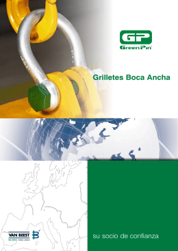 Green Pin® Grilletes Boca Ancha