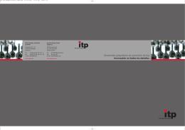 Elementos palpadores de precisión de itp: Innovación en todos los